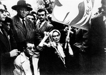 Frida Kahlo, Juan O'Gorman y Diego Rivera