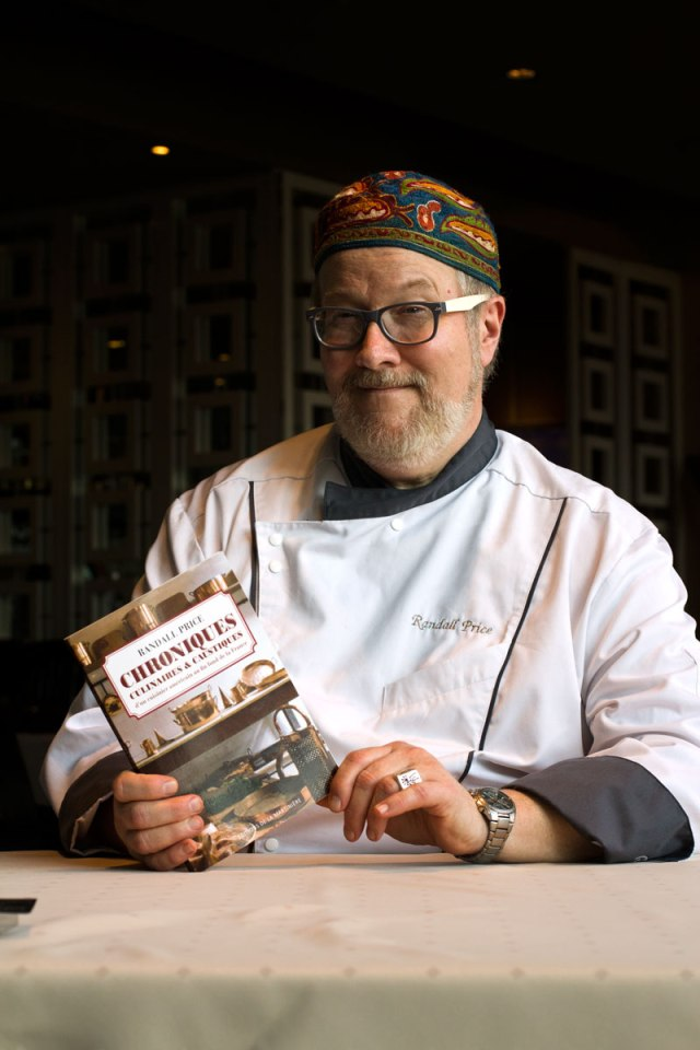 Chef Randall Price and his Book