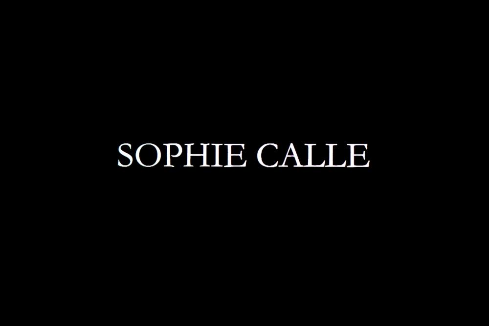 CUIDATEMUCHO SOPHIE CALLE MARCO